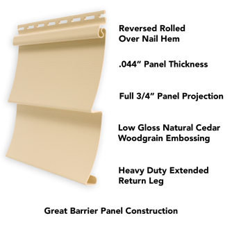 Great Barrier Panel Construction